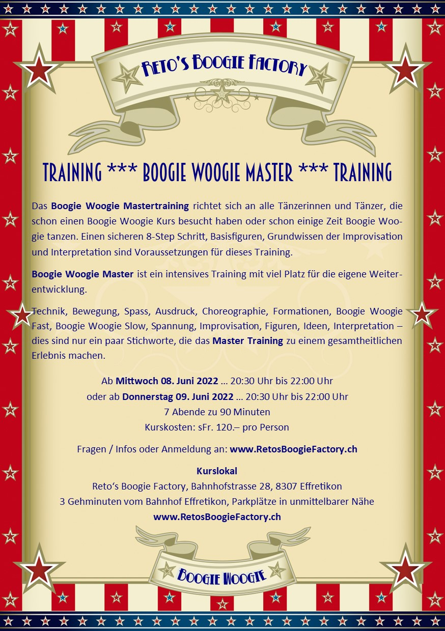 Flyer Master Training